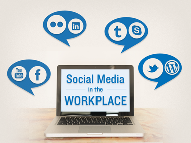 essay on social media in the workplace
