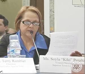 Superior Councilwoman Soya Peralta