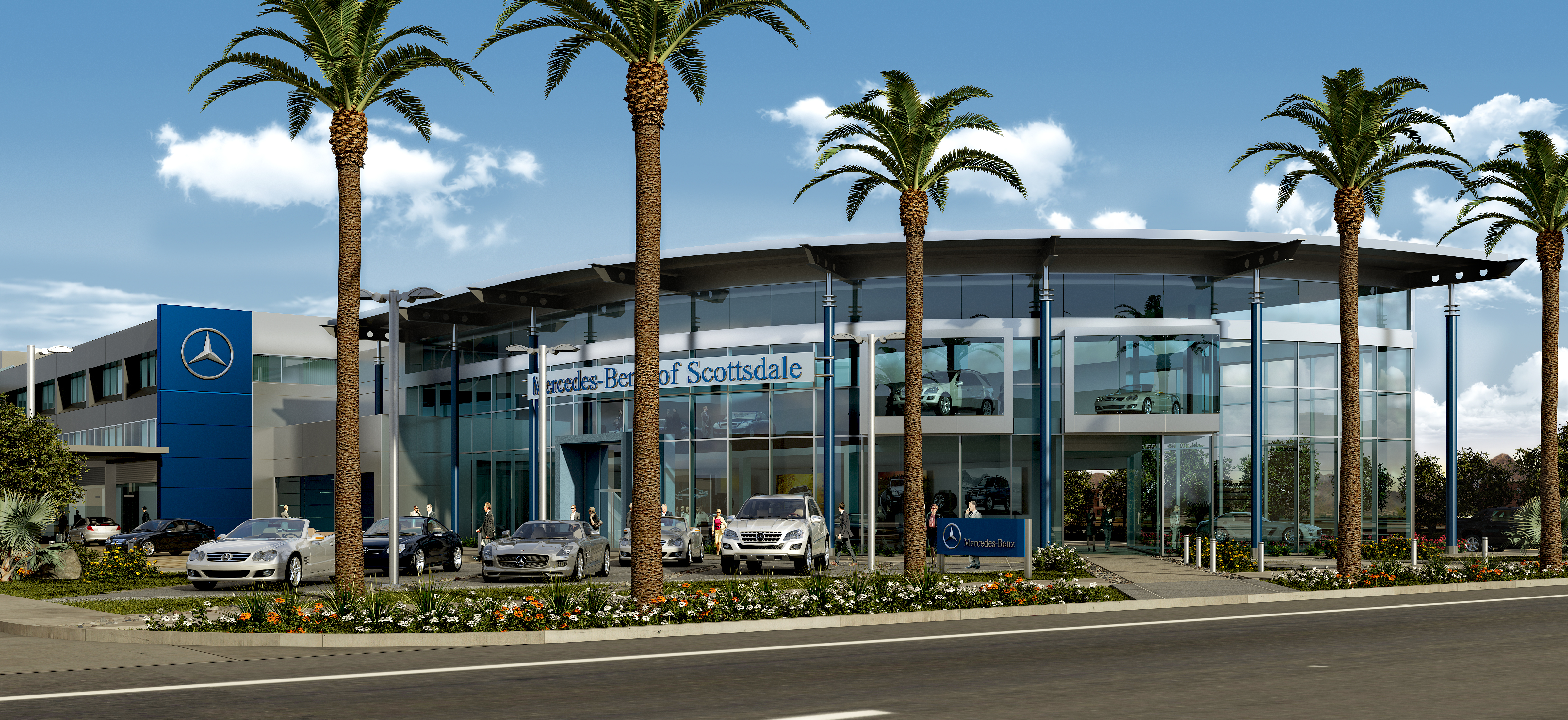 arizona s original mercedes benz dealership relocates from