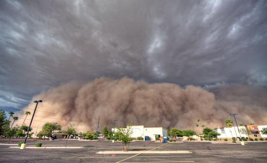 Giant Haboob Dust Storms Cause Epa To Relent On Arizona