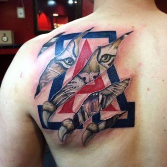 ua fan tattoos karina varner submitted photo david