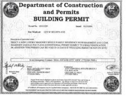 Buildong permit