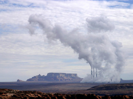 Plumes of nitrogen oxide spiral into the air from northern Arizona's Navajo Generating Station and waft into the views and nostrils of thousands of visitors who have escaped into half a dozen parks in the area — including the Grand Canyon. / adventure journal