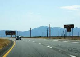 Arizona 347 meets Maricopa Road here. Maricopa Road is the original road to Maricopa.