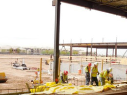 Construction of Tohono O'odham casino in Glendale/Photo courtesy Tohono O'odham Nation