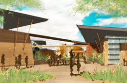 A view of what the Scottsdale Desert Discovery Center could look like. /Scottsdale Independent file photo