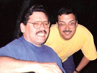Joseph R. Diaz and Ruben E. Jiménez l-r, Tucson, two of the plaintiffs in Diaz v. Brewer