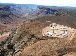 Kanab North Uranium Mine on the North Rim of the Grand Canyon stopped operations in the early 1990s. Revising federal mine reclamation policies is one of the changes sought in a petition submitted by nonprofits, governments and tribes on Tuesday. / Photo courtesy of Don Bills/ USGS