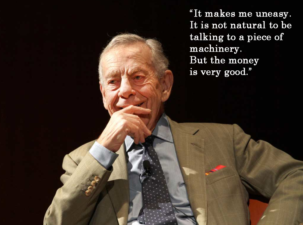 ~ Veteran CBS journalist Morley Safer, who died today, May 19, 2016, at the age of 84.