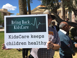 Dozens rallied at the state capitol hoping to lawmakers will bring back KidsCare /Source- KPHO:KTVK)