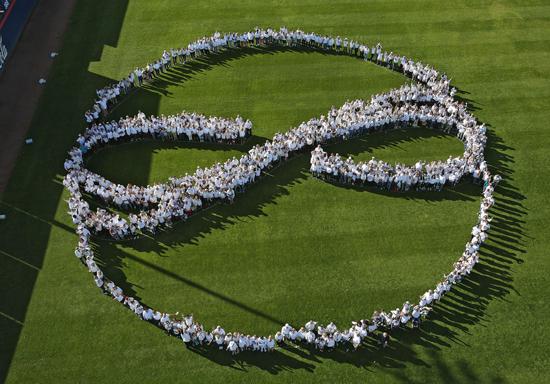 Thousands gather at Hi Corbett Field in Tucson to commemorate Jan. 8, 2011, attack that killed 6, hurt 13 in Tucson. | A,E, Araiza/Arizona Daily Star
